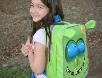 Go Goofy with the Big Eyed Zombie Animated Backpack