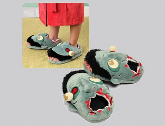 The Zombie Plush Slippers