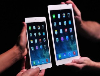 Apple launches the iPad Air and iPad Mini with Retina Display