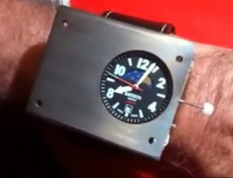 An Awesome Atomic Clock Wristwatch can soon be Yours