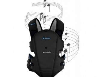 Bebemon Carrier soothes your baby with music