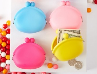 Bubblegum Scent Coin Purse is for some sweet change