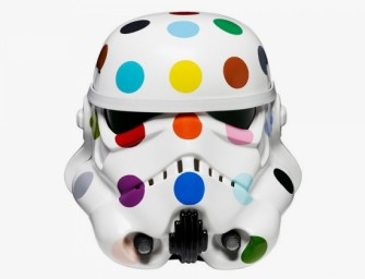 Iconic Stormtrooper Helmet gets artistic reimagining for charity exibition