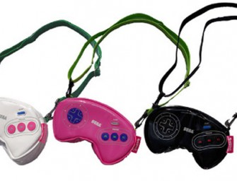 Sega Game Controller pouches bring back our Cool past