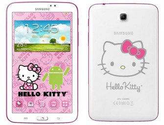 Say Hello to the Samsung Galaxy Tab 3 7.0 Hello Kitty Edition