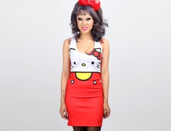 Japan LA Hello Kitty Dresses are purrfectly cute!