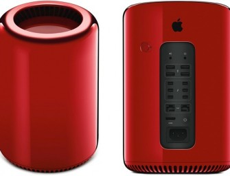 Apple's Jony Ive creates a Red Mac Pro for charity