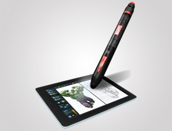 Marvel Creativity Studio stylus helps you to draw the perfect Superheroes