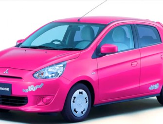 Limited Edition Hello Kitty themed Mitsubishi Mirage coming to Japan very soon