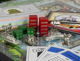 The 3D Monopoly New York Edition by Charles Fazzino
