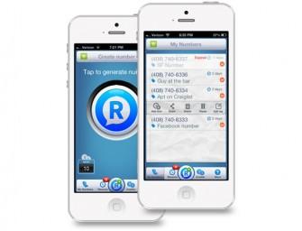 RingMeMaybe App generates disposable phone numbers