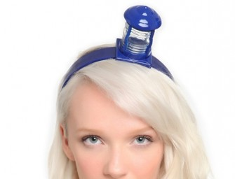 Tardis Headband is the ultimate geek chic accessory