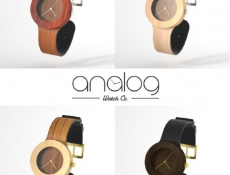Carpenter Collection All-Natural Wood Watch: World's first flexible wooden watch