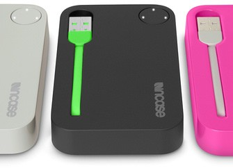 Incase Portable Battery looks pretty in pink!