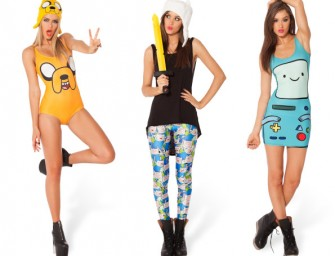 Black Milk launches the vibrant Adventure Time Collection