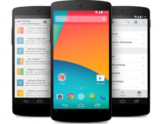 Android 4.4 KitKat and the Nexus 5 unveiled by Google