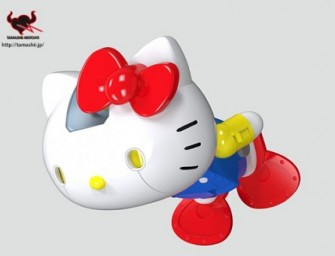 Hello Kitty's 40th Birthday Celebration with Bandai Robot