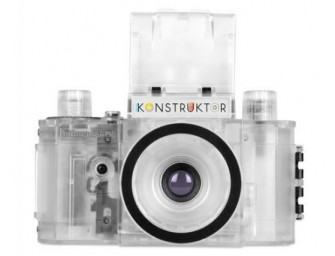 The Transparent Konstruktor Camera by Lomography is Beauty in Futility