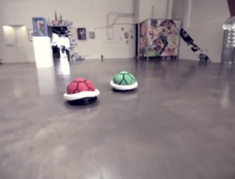 Roomba Covers turn Roomba into a Goomba