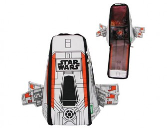 Battle it out with the Star Wars X-Wing Backpack!