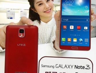 Celebrate Christmas with Merlot Red Samsung Galaxy Note 3