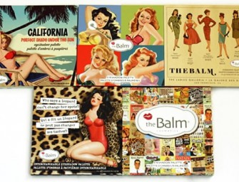 theBalm Launches Quirky Customized Palettes