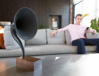 "Gramovox Bluetooth Gramophone: ""Streaming nostalgia"""