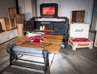 Budweiser's Knitbot Machine creates Sweater with Don't Drink&Drive Message