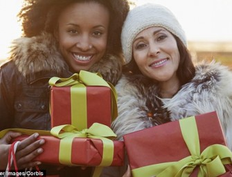 Christmas Shopping can burn upto 1,500 calories!