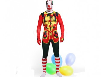 Unisex Clown Costume for the Funny Bone