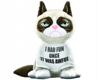Grumpy Cat makes for a Happy Gift