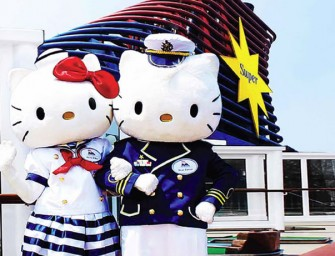 Holiday with Hello Kitty on the Star Cruise!