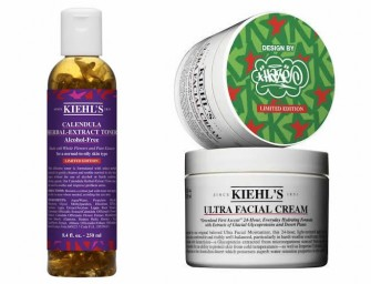 Kiehl's collaborates with Eric Haze for a Limited Edition Holiday Collection