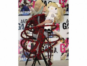 Lady Gaga Hello Kitty Doll is being auctioned for charity