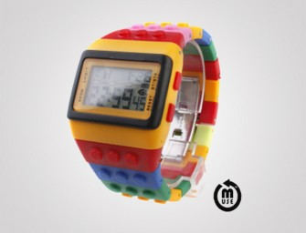 LEGO My Watch is for geeky adults