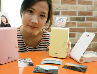 LG Pocket Photo 2 printer simplified for smartphone printing