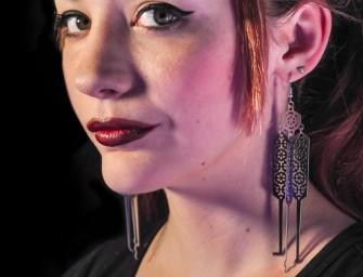 Lock Pick Earrings: Jewellery for forgetful socializers