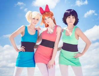 Power Puff Girls Cosplay: Adorable shout-out to an old favorite