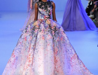 Dress up like a Princess with the Elie Saab Spring/Summer 2014 Couture