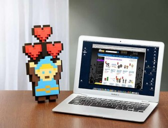 8-Bit Flower Bouquets and Legendary Heroes for a Geeky Valentine's Day