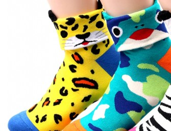 Cute Cartoon Animal Short Cotton Socks: Winter must-haves