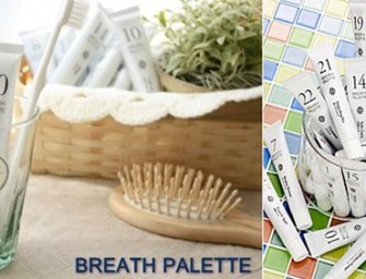 Breath Palette Flavored Toothpaste for Distinctive Palates