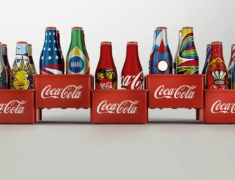 Coca-Cola Out with Special Edition Mini-Bottles for 2014 World Cup