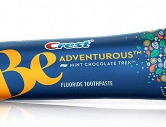 Crest launches chocolate flavoured toothpaste