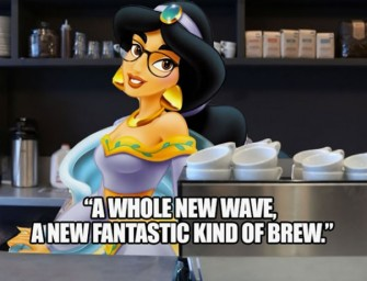 Disney Princesses As Baristas