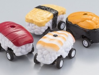 Gachagacha Sushi RC Cars Make Meal Times Crazy