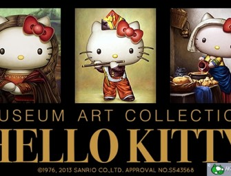 Famous Art Masterpieces Starring Kitty-Chan