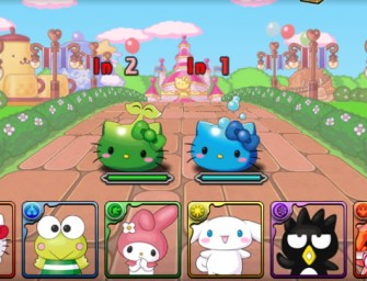 Hello Kitty enters the intriguing Puzzle & Dragons game