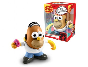 Homer Simpson Debuts as Mr. Potato Head!