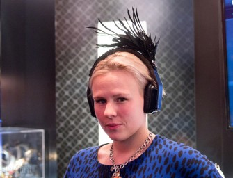 Monster Headphones Go Fancy with Peacock-like Headpiece